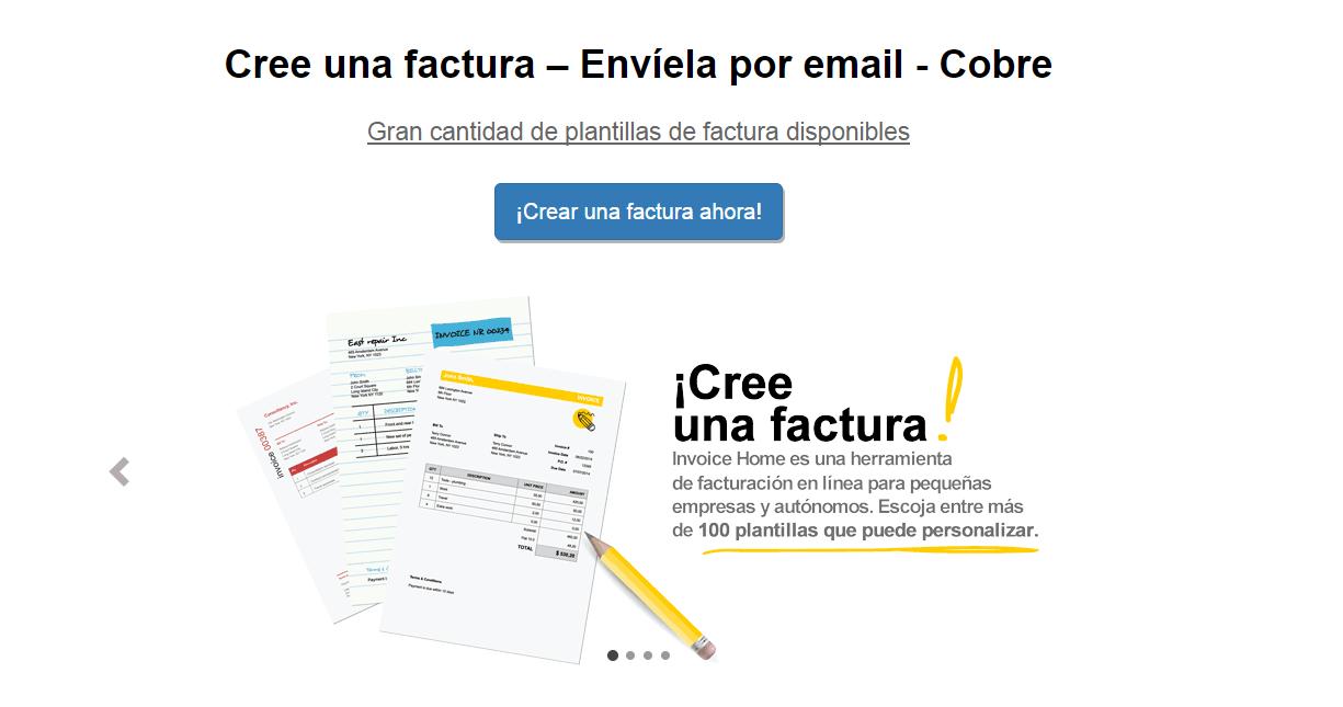 Plantillas De Facturas Gratis Crear Facturas Enviar Facturas